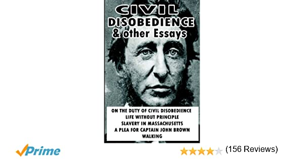 civil disobedience and other essays amazon co uk henry david civil disobedience and other essays amazon co uk henry david thoreau 9781607961031 books