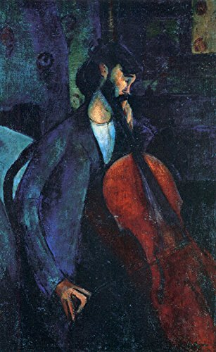 Das Museum Outlet-Modigliani-The Cellist-Poster (61x 45,7cm)
