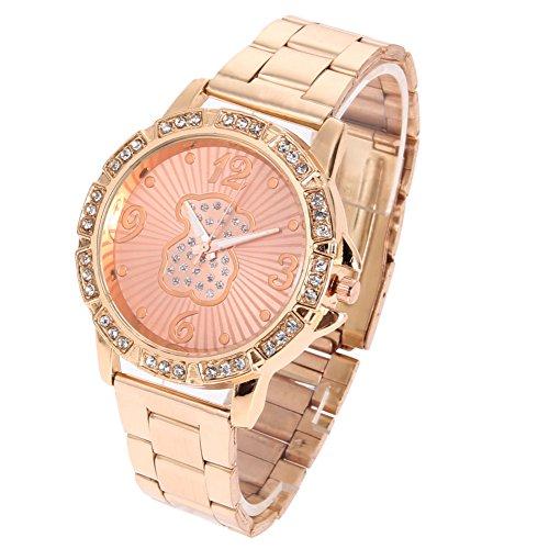 relojes-pulsera-demiawaking-patrn-de-oso-reloj-acero-inoxidable-de-mujeres-sin-sellar-rosa-oro