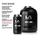 LA Muscle Time Bomb. ★ Complete Premium fast-acting muscle & strength all-in-one shake, Vasculator ★ - Award Winning Pre-Workout Pump Formula with 4 Active Ingredients. See results after a single dose! Special Amazon Price Buy Now Before Prices Go Back Up RRP £100
