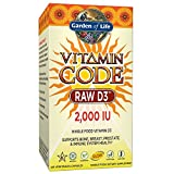 Garden of Life Vitamin Code Raw D3 120 Capsules