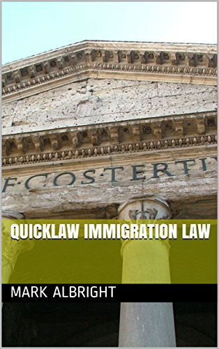 QuickLaw Immigration Law (English Edition)