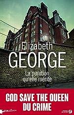 La punition qu'elle mérite de Elizabeth GEORGE