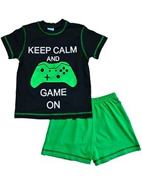 ThePyjamaFactory palo de golf para niños con texto en inglés para corta de Morro De juegos pijama de 7-12 años