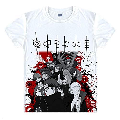 TWQOFV Camisetas Hombre niño Iguales Naruto Anime
