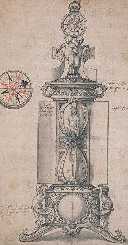 Das Museum Outlet-Design für Anthony Denny \'s Astronomischen Uhr. 1543-Leinwanddruck Online kaufen (152,4x 203,2cm)