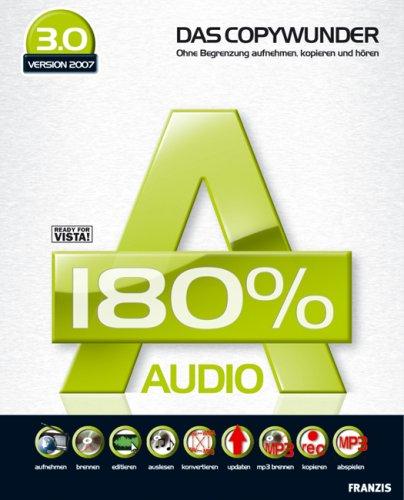 Audio 180{2866e9207f149f89d186066b36a5cdb0caef1ef46fc785ea12ef66ceaa9b0351} 3 (DVD-ROM)