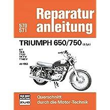 Reparatur! 4 Zylinder Vergaser Modelle Wartung Reparaturanleitung Triumph 3