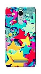 Unicraft Back Cover for Xiaomi Redmi Note 3 (3D Printed Multicolor)