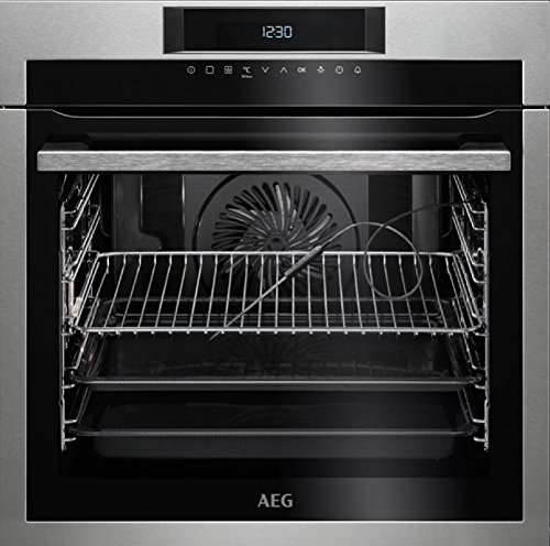 AEG BPE642120M Electric oven 71L A+ Acero inoxidable - Horno (Medio, Electric oven, 71 L, 71 L, 2900 W, 3 shelves)