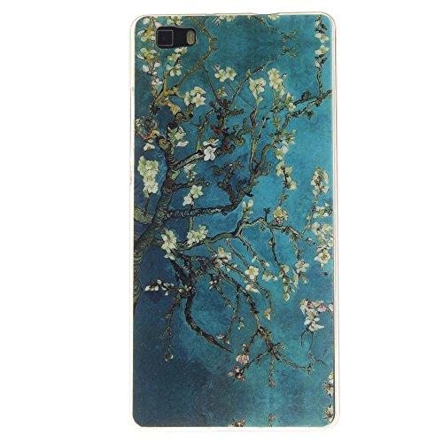 Huangtaoli cover in silicone per huawei p8 lite