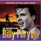 THE UNFORGETTABLE BILLY FURY: The 5 Classic Albums CD