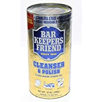 Bar Keepers Friend B88277 Bar Keepers Cleanser & Polish With Mild Abrasives -12x12oz by Bar (Bar Keepers)