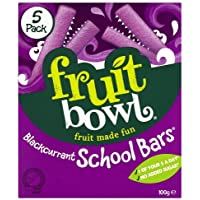 Fruit Bowl School Bars Blackcurrant 100 g (Pack of 6)