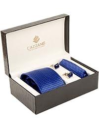 Cazzano Checkered Men's Tie Set (TCPNC231)