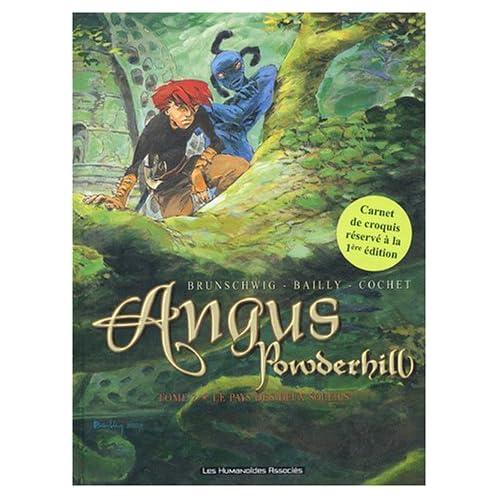 Angus Powderhill, tome 2 : Le pays des deux soleils