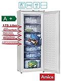 Amica GS 15300 W Gefriergerät / 178 L