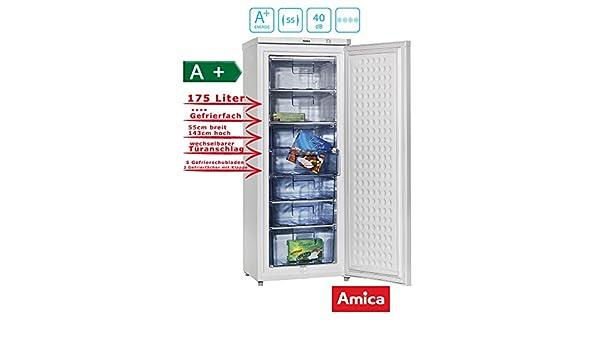 Bomann Kühlschrank Dte 226 : Amica gs 15300 w gefriergerät 178 l: amazon.de: elektro großgeräte