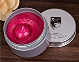 Oderola Unisex DIY Hair Color Wax Mud Dye One-time Coloring Cream Temporary Modeling Hairstyle Wax,7 colours