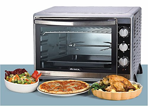 ariete 976 bon cuisine 520 metal mini oven with rotisserie