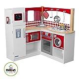 Kidkraft-Rote-Grand-Gourmet-Kchenecke-53225-aus-Holz-Red-Kinderkche