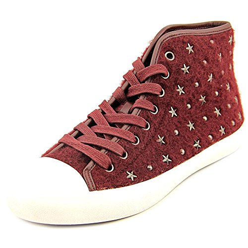 Coach Emerald Star Toile Baskets Burgundy-Burgundy