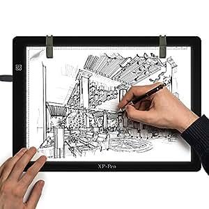xp pen cp a4s tablette lumineuse graphique led pour dessiner copier d calquer avec pince de. Black Bedroom Furniture Sets. Home Design Ideas