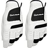 2015 TaylorMade Premium ST Synthetic Tech Leather Mens Golf Gloves **Pack of 2** - Left Hand for the Right Handed Golfer