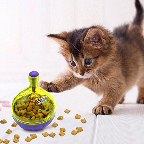 Katzenspielzeug Futternapf & Katzen Intelligenzspielzeug in einem
