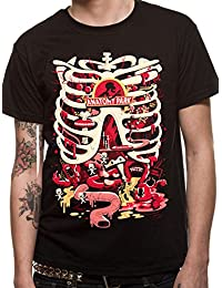CID Men's Rick and Morty-Anatomy Park T-Shirt