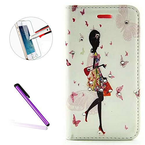 iphone-5c-caseiphone-5c-leather-pu-wallet-covernewstarsbutterfly-fairyflowerinlaid-shiny-glitter-dia