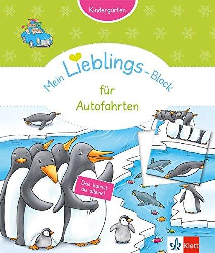 Klett Mein Lieblings-Block für Autofahrten: Kindergarten ab 3 Jahren. Das kannst du alleine!