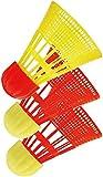 Beachminton 490090 Ersatzball AEROSPEED, red-yellow, 12 x 6 x 6 cm