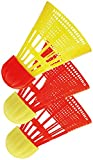 Beachminton 490090 Ersatzball AEROSPEED, red-yellow, 12 x 6 x 6 cm