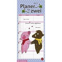 Rosalie & Trüffel Planer für zwei - Kalender 2017