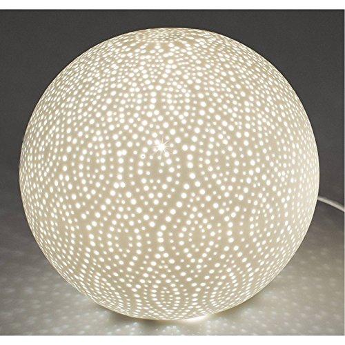 formano kugellampe Formano Kugellampe, Leuchte Swing Punkte D. 21cm Keramik weiß
