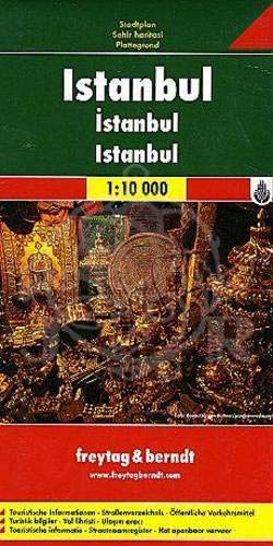 Freytag Berndt Stadtpläne, Istanbul 1:10 000