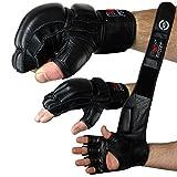 Freefight MMA Handschuhe professionelle hochwertige Qualität echtes Leder Boxhandschuhe Sandsack