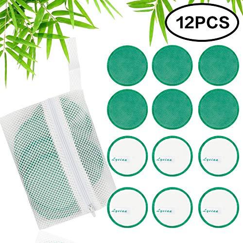 Abschminkpads, Lyeiaa Abschminktücher Mikrofaser zum Abschminken, Hypoallergene Microfaser Gesichtsreinigungstücher, Make-Up-Entferner Tuch für Gesichtspflege, Waschbar & Wiederverwendbar