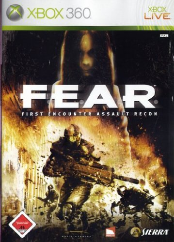 F.E.A.R. - First Encounter Assault Recon (Games Horror 360 Xbox)