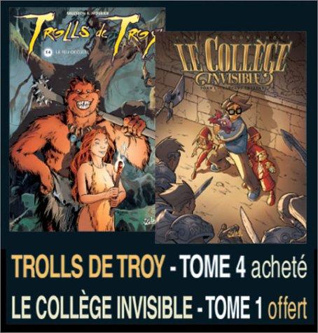 2 BD pour le prix d'1 : Trolls de Troy, tome 4 + Le collège invisible, tome 1