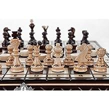 PERLE - scacchiera in legno cm 35/14 in fatti a mano