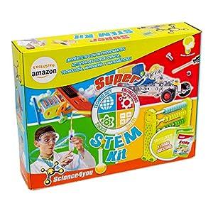 Science4you-Super Stem Kit, Juguete Educativo (607392)