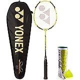 Yonex Voltric 8 E Tune & Mavis 200I Combo (Voltric 800 E Tune Badminton Racquet + Mavis 200I Pack Of 6 Shuttlecock)
