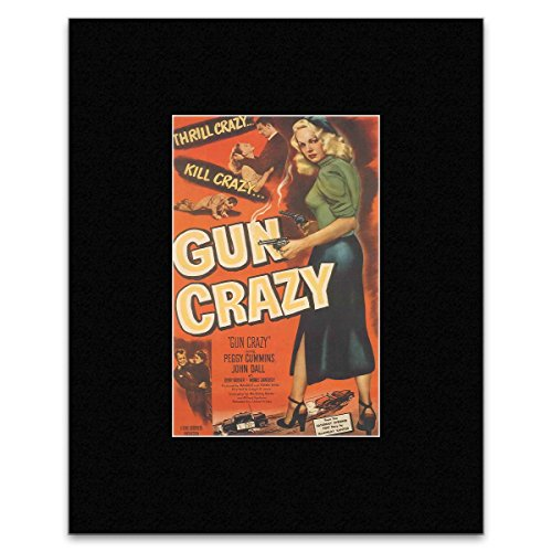 gun-crazy-harry-lewis-and-peggy-cummins-matted-mini-poster-256x17cm