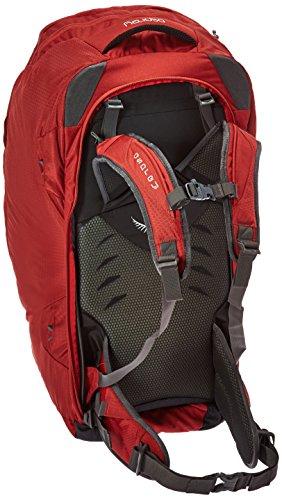 Osprey Farpoint 80 Trekking Rucksack M/L rot