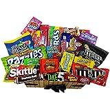 Heavenly Sweets - Grand Coffret Cadeau Américain Bonbons/Chocolat Wonka/Nerds Cadeau Noël/Anniversaire - Boîte Effet Osier