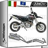 Arrow Komplettanlage Auspuff Hom Thunder Aluminium Honda FMX 65020050572607AO + 72069pd