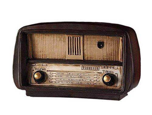 Retro tun alte Vintage Radio Harz Handwerk Vintage Simulation Dekoration (Alte Radios)
