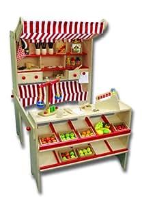 beeboo bois epicerie deluxe non accessoires inclure jeux et jouets. Black Bedroom Furniture Sets. Home Design Ideas